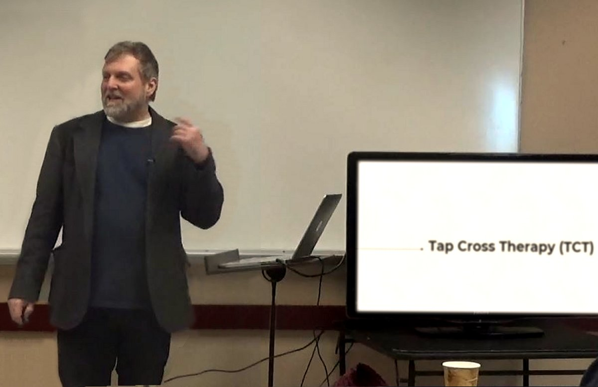 david m masters tap cross therapy tct